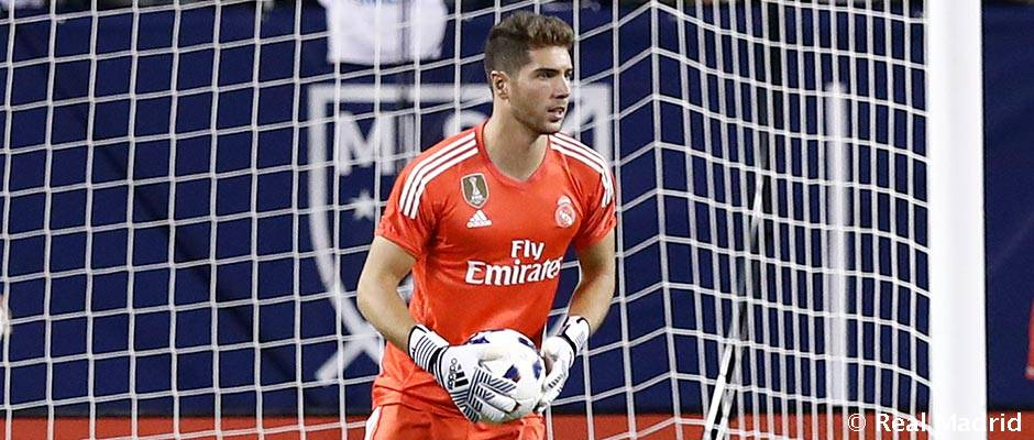 Luca Zidane odíde na hosťovanie do Segundy División