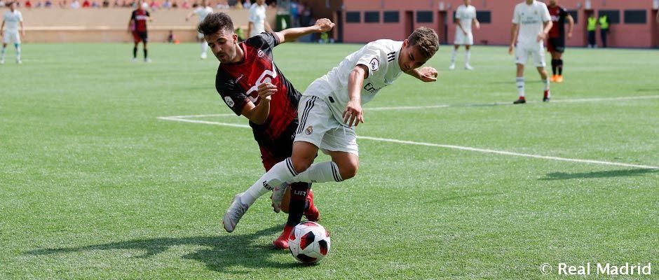 🎥 Castilla uhrala bezgólovú remízu s Unión Adarve