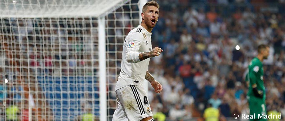 Ramos, najlepší stredný obranca na svete