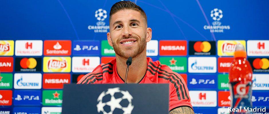 """Ramos: """"Bez ohľadu na to, kde je finále, Real Madrid je vždy povinný byť konkurencieschopný"""""""