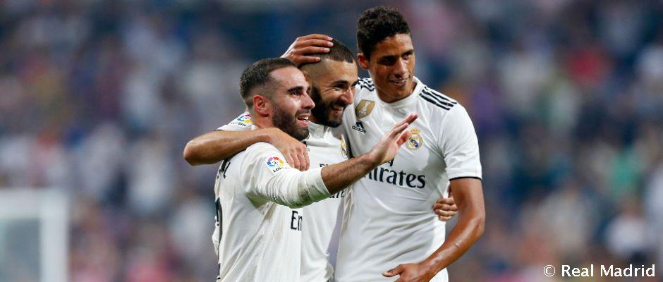 Real Madrid je po troch kolách najefektívnejším tímom La Ligy