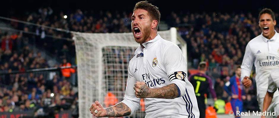 Sergio Ramos strelil stý gól v kariére, zaradil sa medzi legendy medzi obrancami