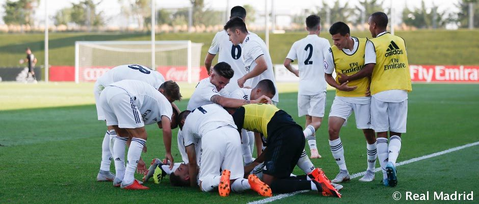 Castilla je po víkende na druhom mieste, s Navalcarnero vyhrala 3-1