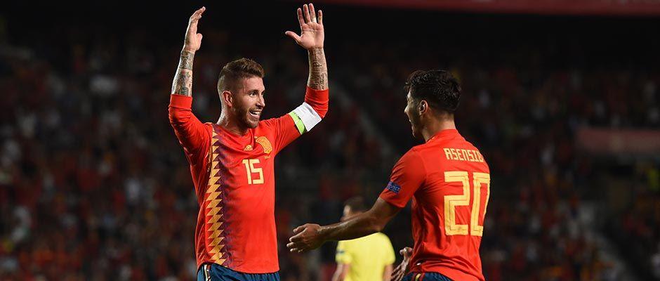 Nominácia španielskej reprezentácie, figurujú v nej štyria Madridisti