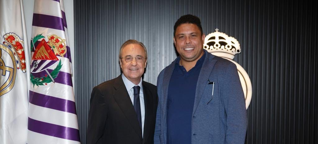 Prvý Galáctico v roli prezidenta iného klubu na Bernabéu
