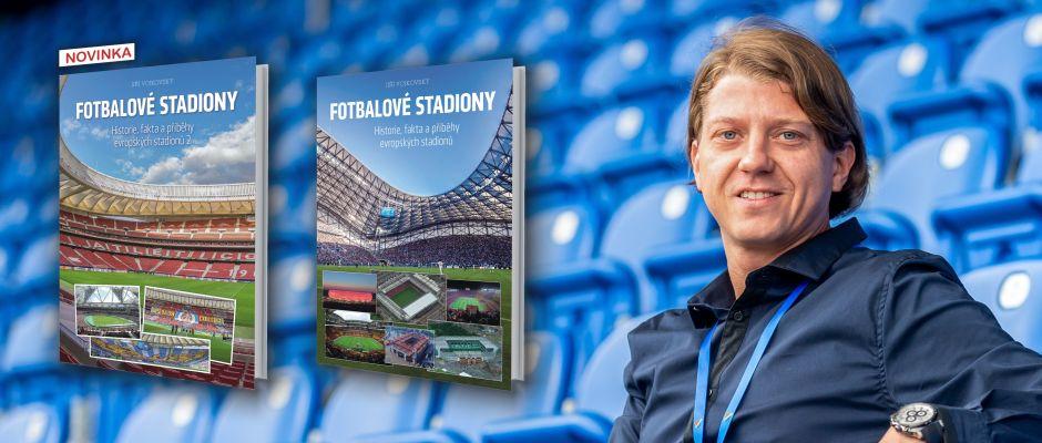 Súťaž o knihu Fotbalové stadiony 2