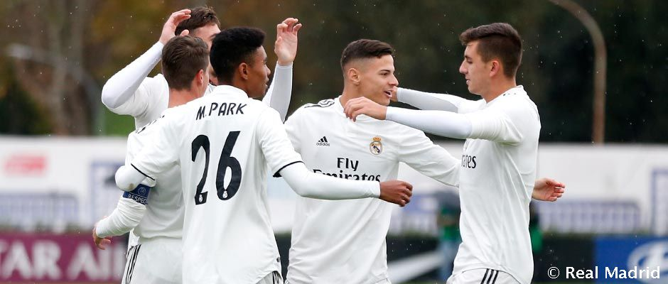 Real Madrid U19 so šancou na rekord