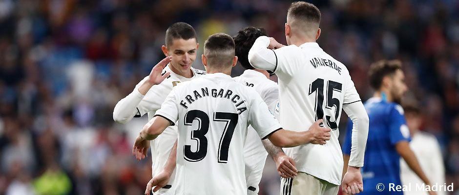 VIDEO Real Madrid vyhral s Melillou presvedčivo 6-1
