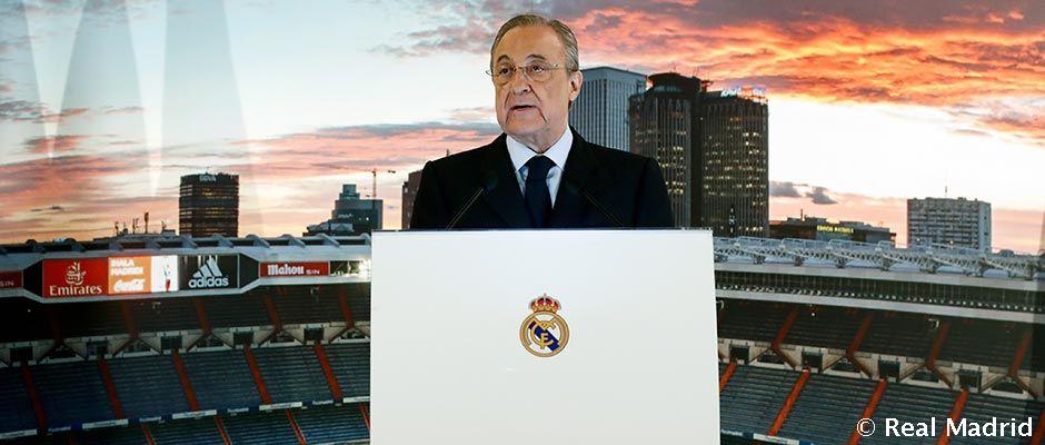 Florentino Pérez predsedal vianočnej večeri s médiami