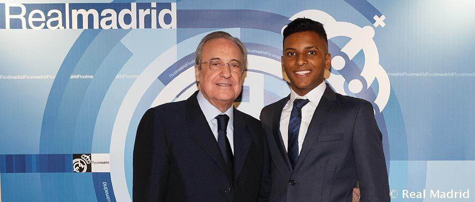 Rodrygo o jeho návšteve na Bernabéu:
