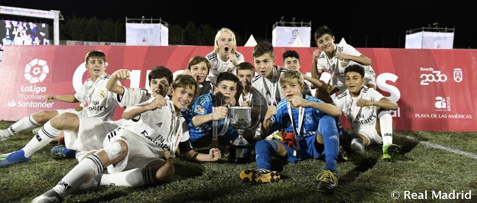 Real Madrid vyhral prestížny juniorský turnaj La Liga Promises Santander