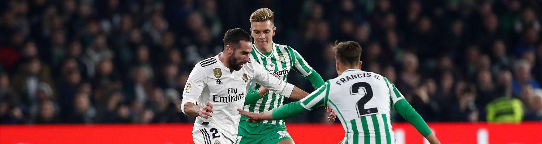 Real Madrid porazil Betis, rozhodol Ceballos a zranil sa Benzema