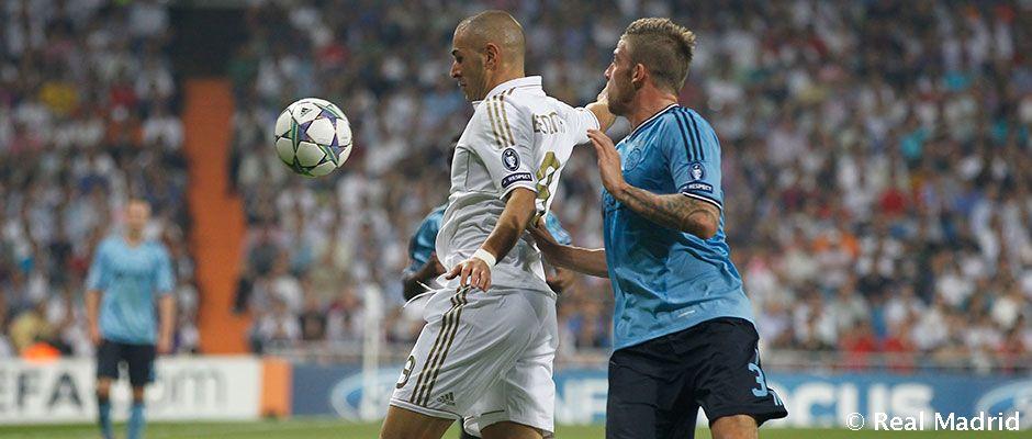 Real Madrid porazil Ajax v posledných 6 zápasoch