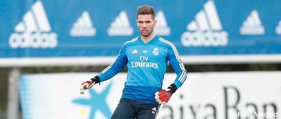 Luca Zidane sa teší na hosťovanie v Santanderi