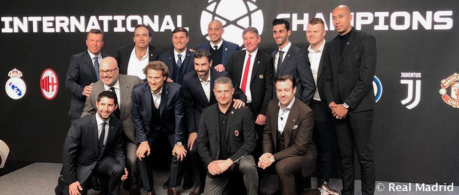 Poznáme mená súperov Realu Madrid na International Champions Cup