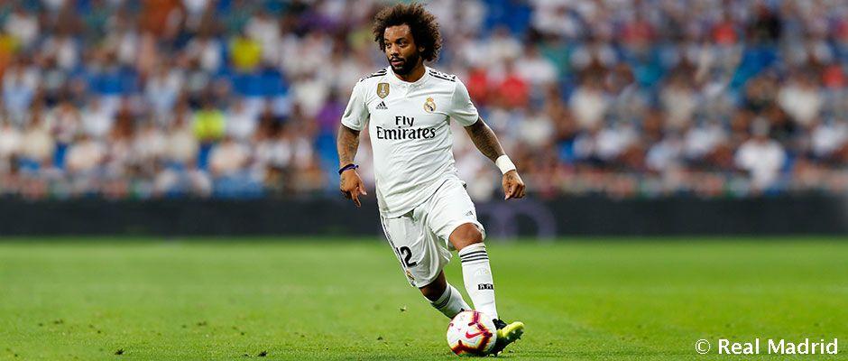 Marcelo nebude k dispozícii na zápas s PSG