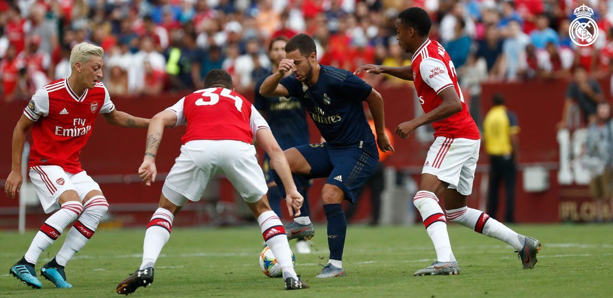 International Champions Cup: Real Madrid 3-2pp Arsenal