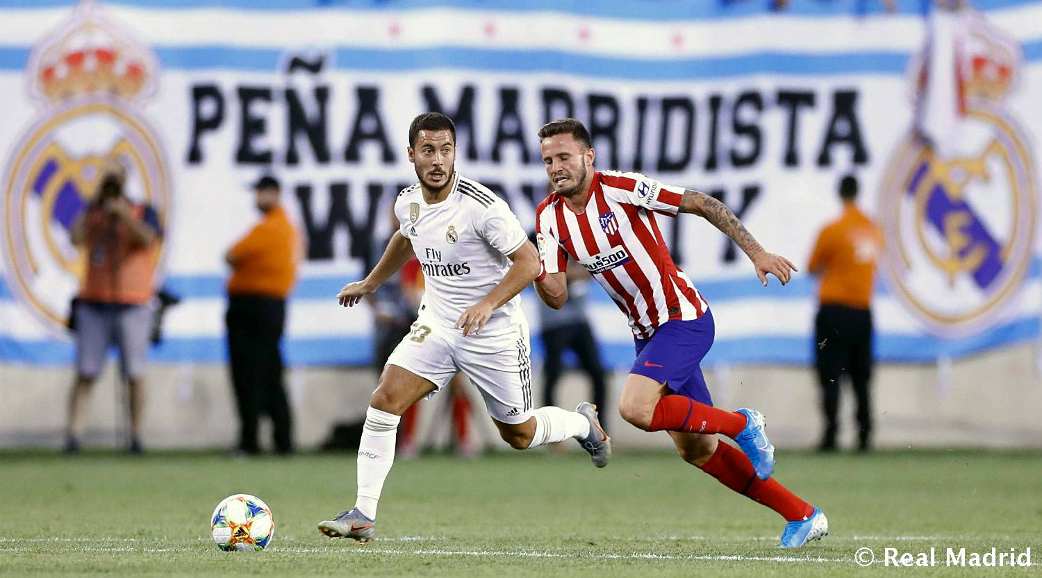 International Champions Cup: Real Madrid 3-7 Atlético Madrid