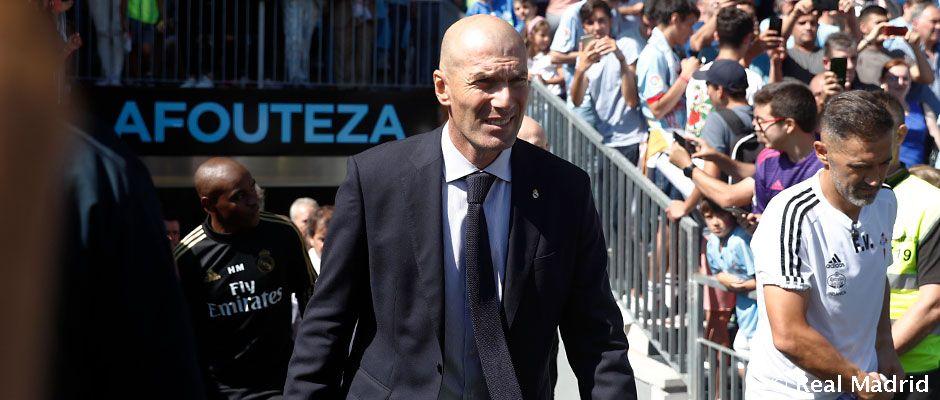 Zidane chce predĺžiť svoju neporaziteľnosť finálových zápasov