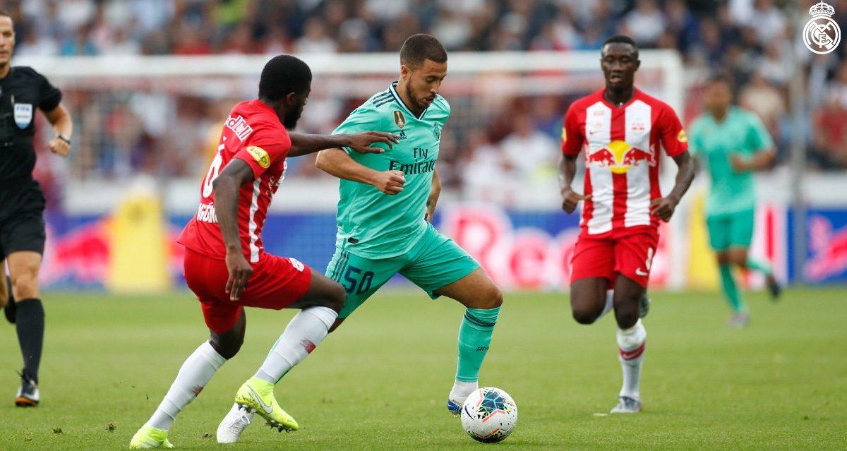 PRÍPRAVNÝ ZÁPAS: Red Bull Salzburg 0-1 Real Madrid