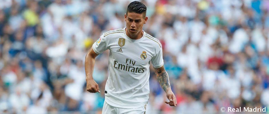 Real Madrid sa teší z Jamesa Rodrigueza