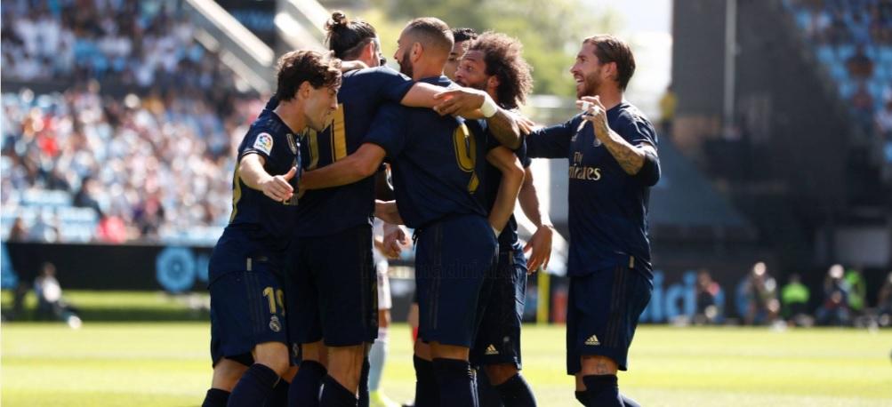 ZOSTRIHY GÓLOV: Celta Vigo 1-3 Real Madrid
