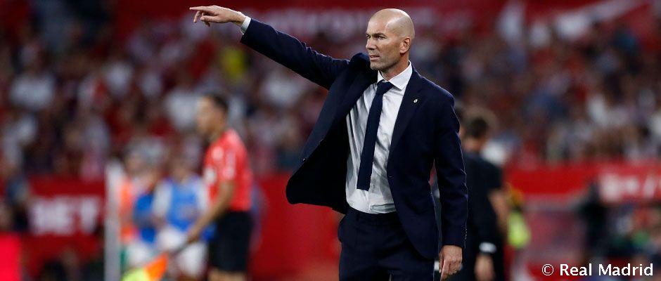 Zidane má plán na La Ligu