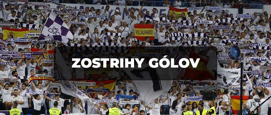 ZOSTRIHY GÓLOV: Real Madrid 6-0 Galatasaray