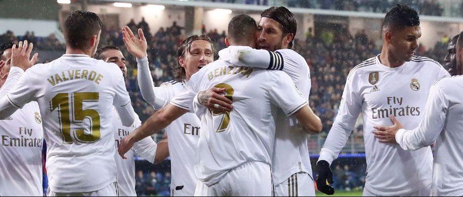 HRÁČ ZÁPASU: Éibar - Real Madrid