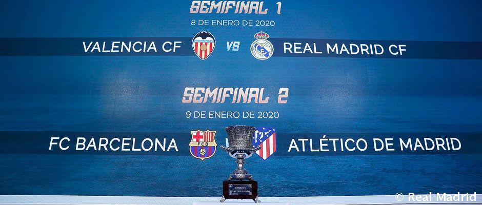 Real Madrid spoznam súpera v semifinále Španielskeho superpohára