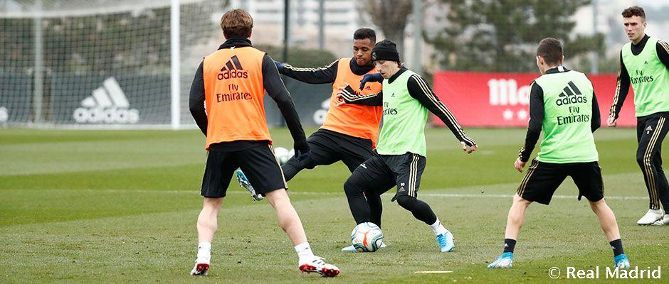 Zidane sa stretol s Rodrygom