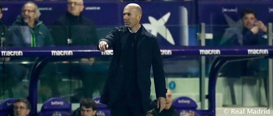 Zidane po prehre: