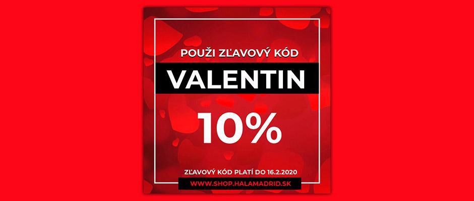 Valentínska zľava pre všetkých