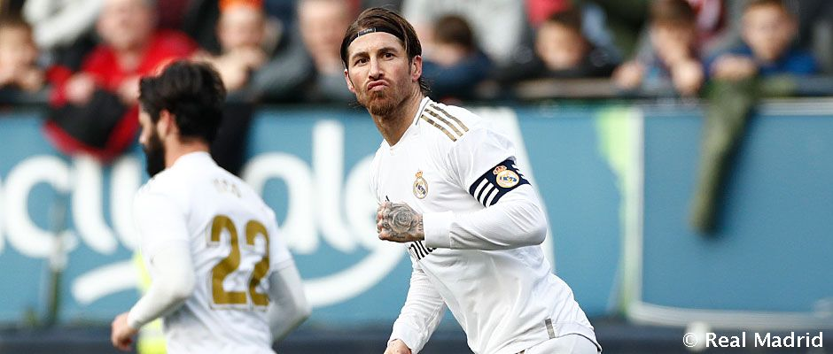 Sergio Ramos rád prepisuje rekordy, tentokrát ide o miesta, kde skóroval