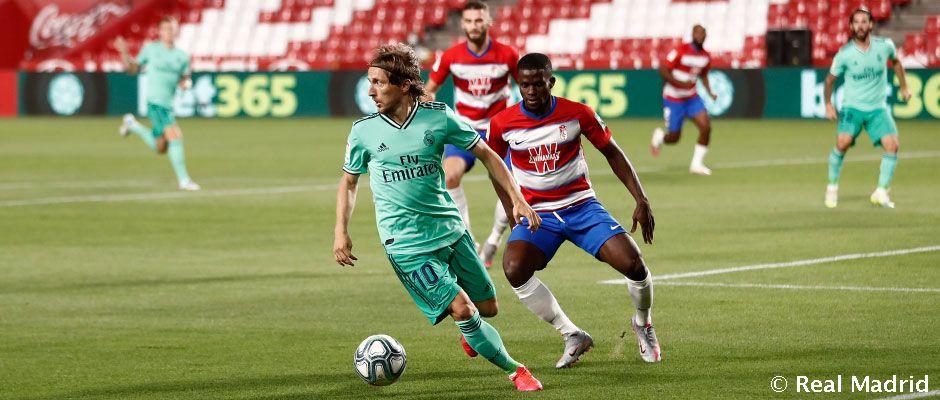 VIDEO: Granada 1-2 Real Madrid