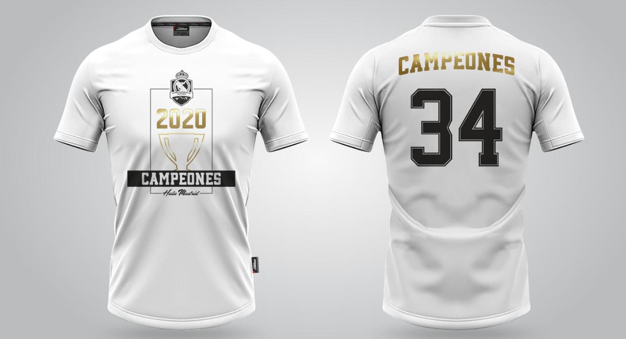 Oslávte 34. titul v La Lige limitovaným tričkom