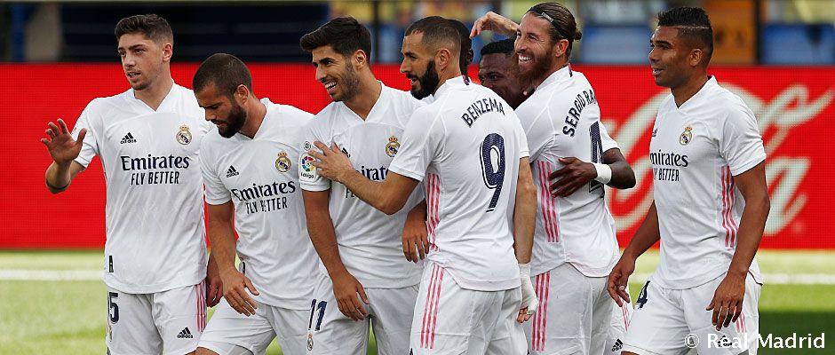 PRAVDEPODOBNÉ ZOSTAVY: Real Madrid - Cádiz