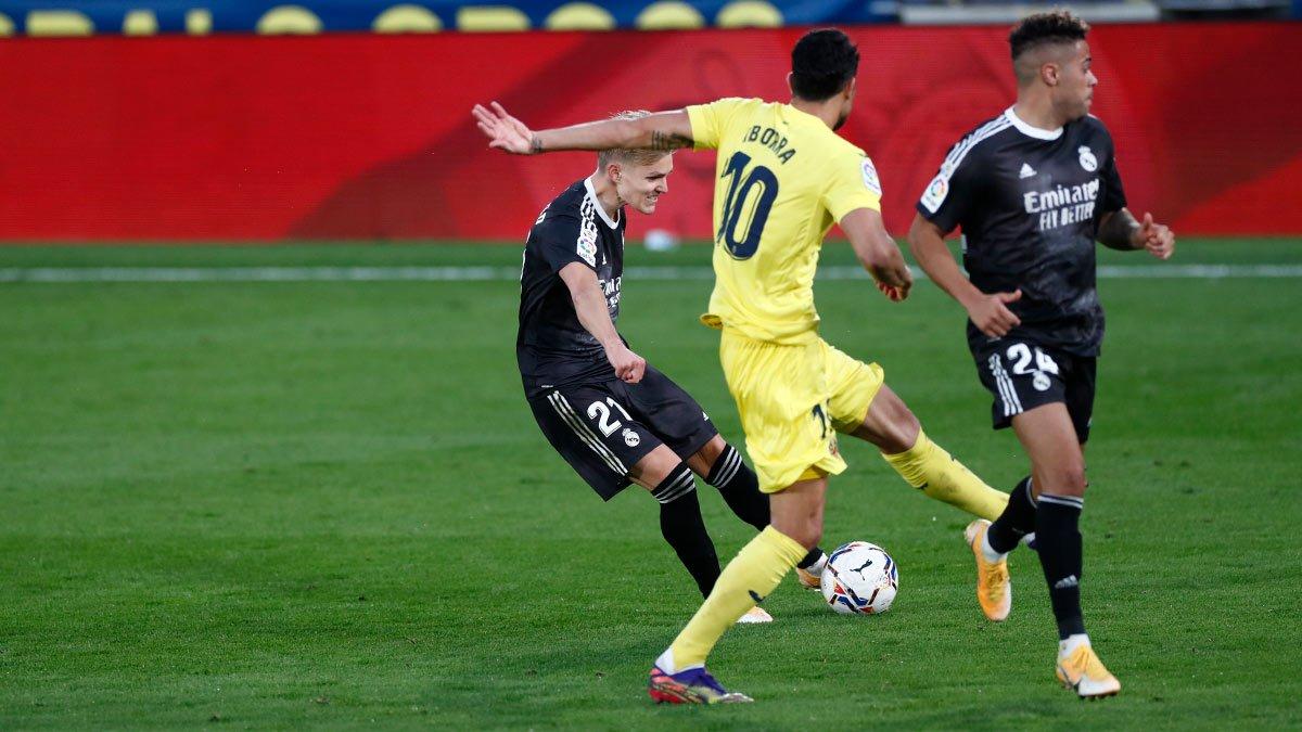 Hra Ødegaarda je najväčším pozitívom pre Real Madri